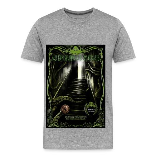 Auf den Spuren H. P. Lovecrafts 2  (T-Shirt Männer) - Männer Premium T-Shirt