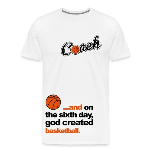Basketbal Coach - Mannen Premium T-shirt