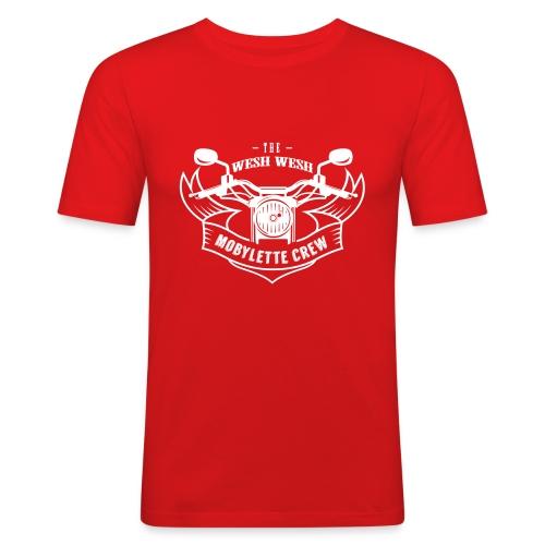 Promo - Wesh wesh mobylette crew - T-shirt près du corps Homme