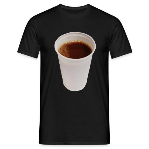 Cafe  - Männer T-Shirt