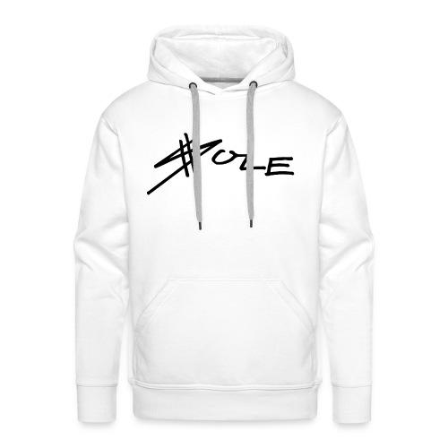 SOLE Logo Writing Hoodie - Männer Premium Hoodie