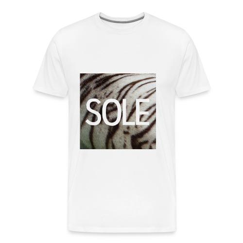 SOLE Tiger Logo Tee - Männer Premium T-Shirt