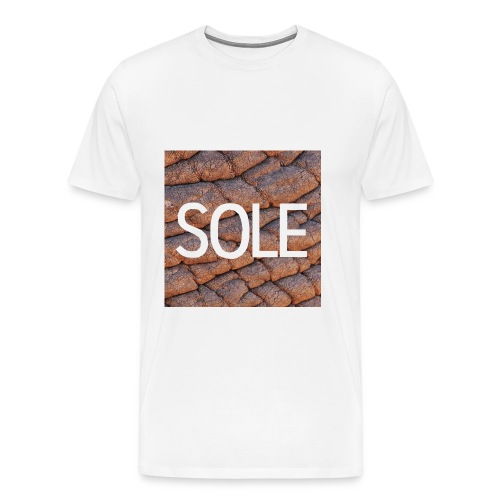 SOLE Elephant Logo Tee - Männer Premium T-Shirt