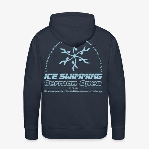 Ice Swimming German Open - Herren Hoody - Männer Premium Hoodie