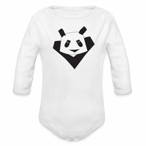 Body Super Panda - Body bébé bio manches longues