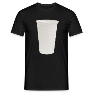 Cafe Becher - Männer T-Shirt