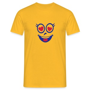 smiley coeur amoureux amoureuse 23 Tee shirts - T-shirt Homme