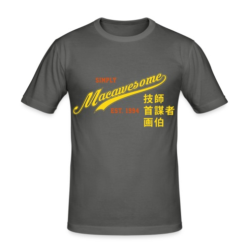 Macawesome Muscle Shirt - slim fit T-shirt