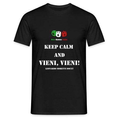Keep calm and vieni, vieni! - Maglietta da uomo