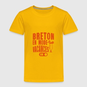 breton en mode vacances cocktail humour Tee shirts - T-shirt Premium Enfant