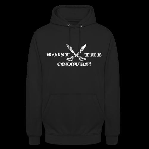 Hoist the Colours Piraten Hoodie (Schwarz) - Unisex Hoodie