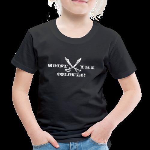 Hoist the Colours Piraten T-Shirt (Kinder/Schwarz) - Kinder Premium T-Shirt