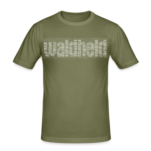 waldheld - Männer Slim Fit T-Shirt