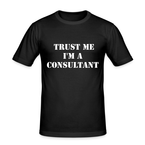 Trustworthiness  - slim fit T-shirt