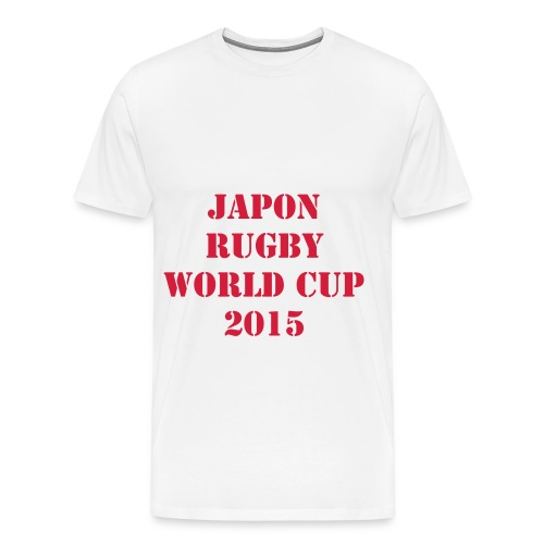 TEE SHIRT JAPON RUGBY WORLD CUP 2015   - XV - T-shirt Premium Homme