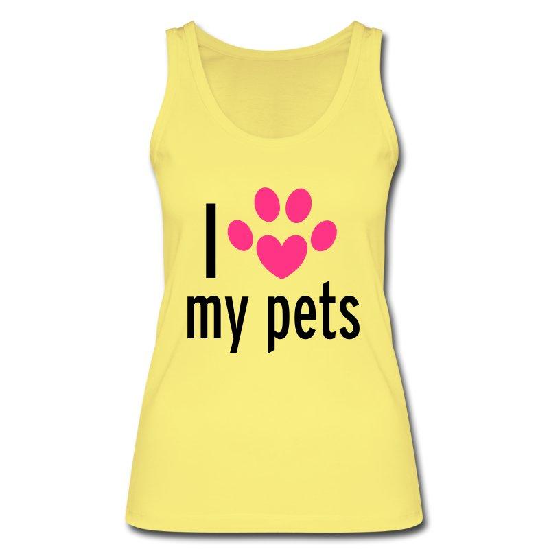 Love My Pets Toppe - ?ko tank top til damer