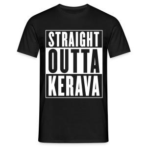 STRAIGHT OUTTA KERAVA -paita - Miesten t-paita