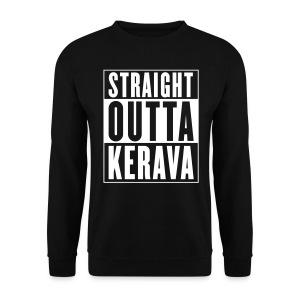 STRAIGHT OUTTA KERAVA -college - Miesten svetaripaita