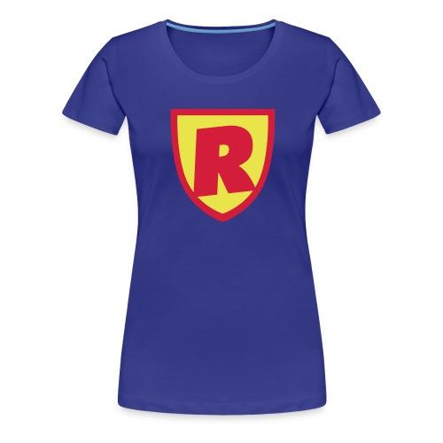 Superhjälte - Premium-T-shirt dam