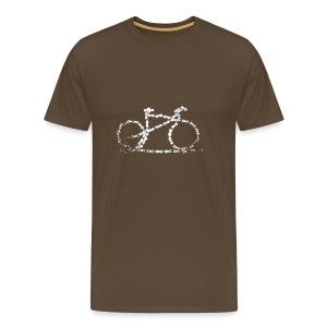 Bike T-shirt Bike Chain - Men's Premium T-Shirt