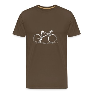 Bike T-shirt Bike Chain - Men's Premium T-Shirt