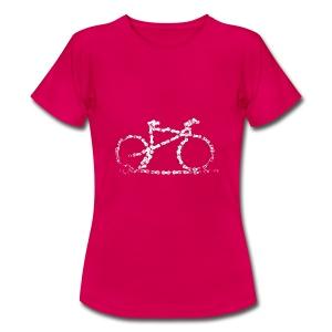 Women Bike T - Women's T-Shirt
