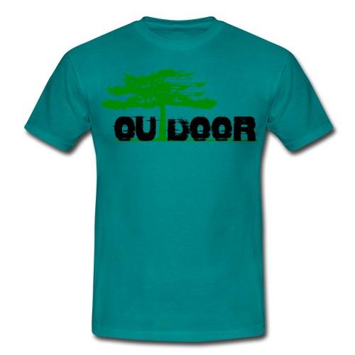 Outdoor Front Berg Heil Back Short Shirt For Men - Männer T-Shirt