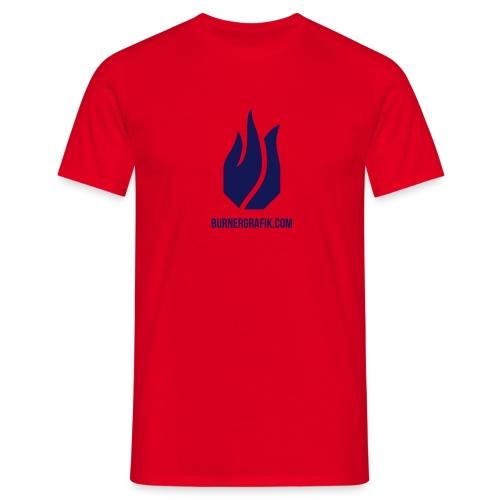 pure Flamme - Männer T-Shirt