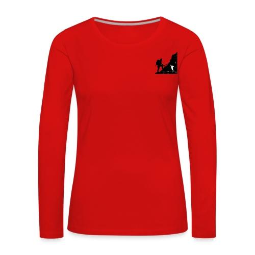 Berg Heil For Girls Long Shirt - Frauen Premium Langarmshirt