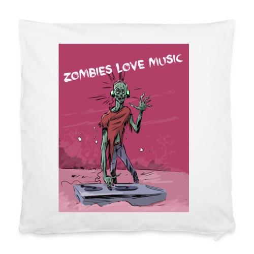Zombies love music - Housse de coussin 40 x 40 cm