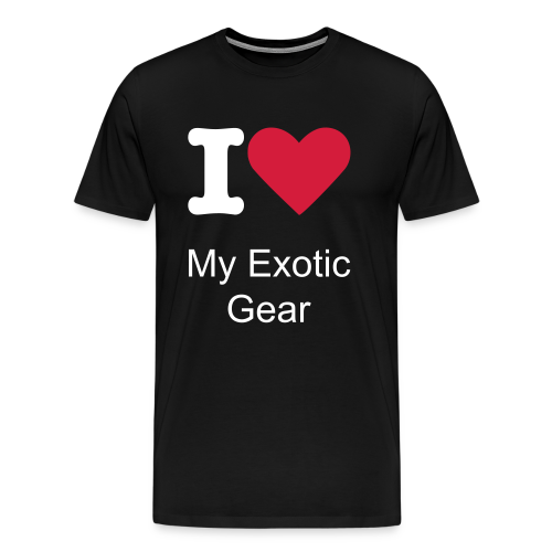Love exotic - Männer Premium T-Shirt