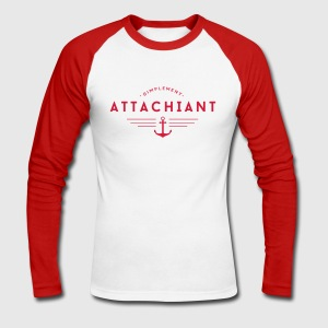 Attachiant Manches longues - T-shirt baseball manches longues Homme