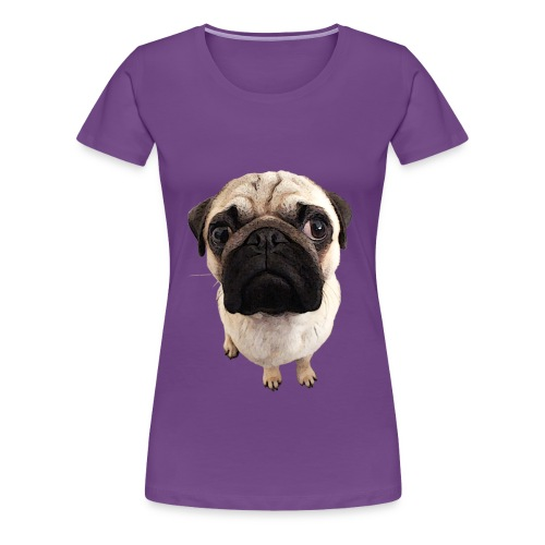 Frauen Premium T-Shirt - Mops-Foto - Frauen Premium T-Shirt