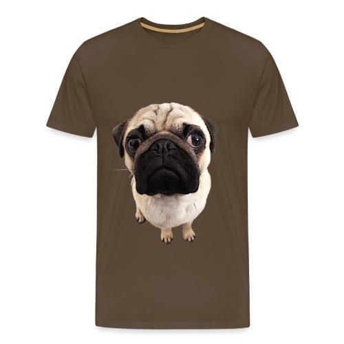 Herren Premium T-Shirt - Mops-Foto - Männer Premium T-Shirt