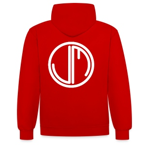 JM In The Back Hood Women - Contrast Colour Hoodie