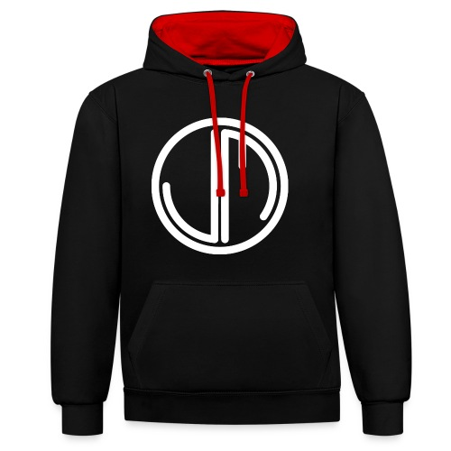 JM In the Front Hood - Contrast Colour Hoodie