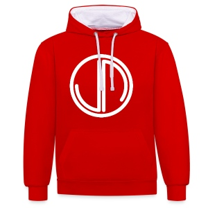 JM In The Front Hood Women - Contrast Colour Hoodie
