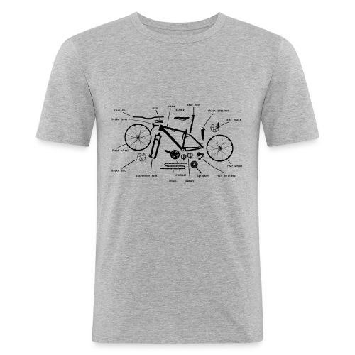 Bike Bausatz - Männer Slim Fit T-Shirt