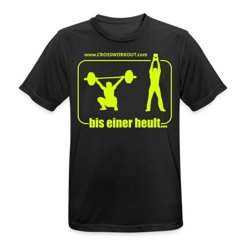 Funktionsshirt Herren BisEinerHeult - Männer T-Shirt atmungsaktiv