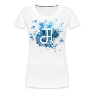 Glyphe Tokyo Flair ♀ - Frauen Premium T-Shirt