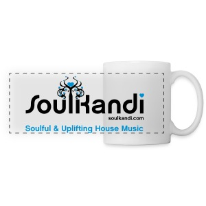 Soul Kandi Panoramic Print Mug Black & Blue - Panoramic Mug