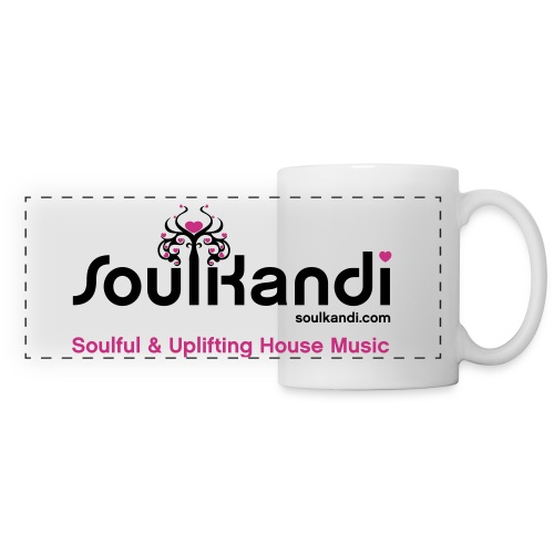 Soul Kandi Panoramic Print Mug Black & Pink - Panoramic Mug