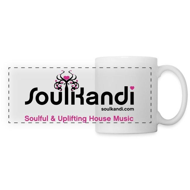 Soul Kandi Panoramic Print Mug Black & Pink