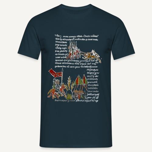 Strona z kodeksu - Koszulka męska