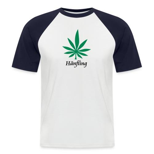 Hänfling das Shirt - Männer Baseball-T-Shirt