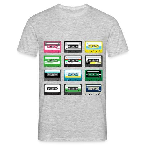 Retro Mixtape - Men's T-Shirt