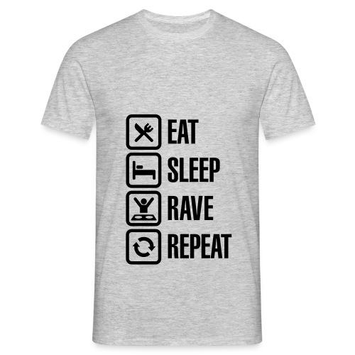 Rave Repeat - Men's T-Shirt