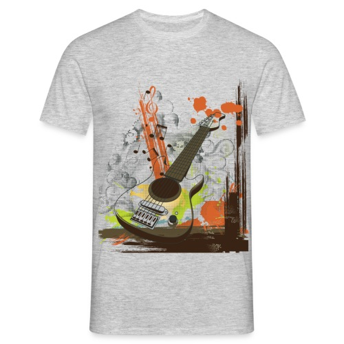 retro guitar - Men's T-Shirt