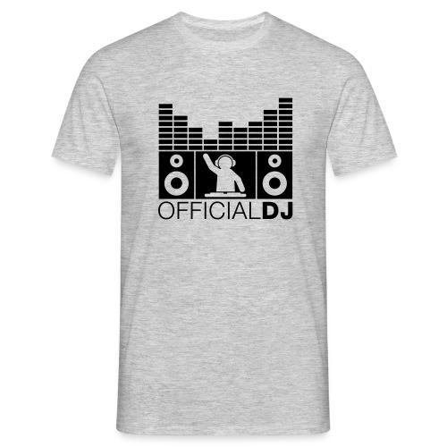 official dj - Men's T-Shirt