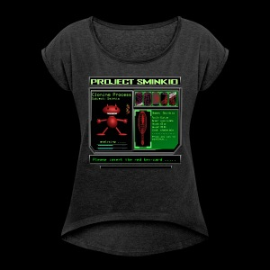CyberSminkio - Maglietta da donna con risvolti